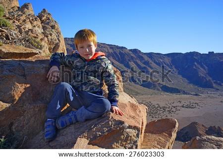 Wild Child - stock photo