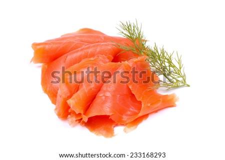 Wild salmon - stock photo