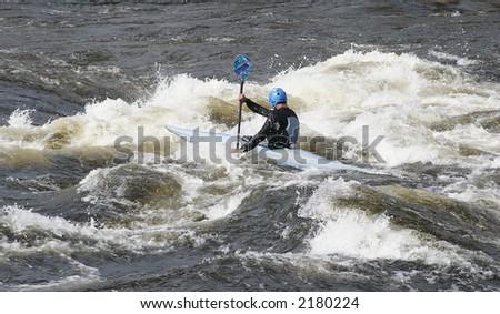 Wild water - stock photo