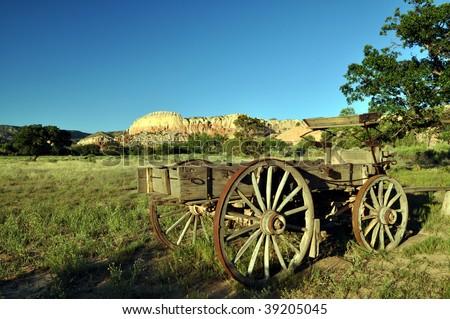 Wild West Wagon - stock photo