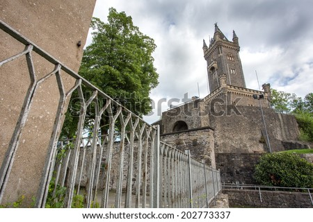 wilhelmsturm dillenburg germany - stock photo