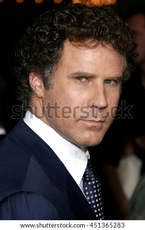 Will Ferrell  at the Los Angeles premiere of 'Stranger Than Fiction' held at the Mann Village Theatre in Westwood, USA on October 30, 2006.  - stock photo