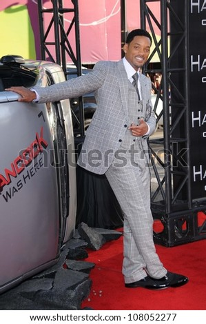 "Will Smith  at the World Premiere of ""Hancock"". Grauman's Chinese Theatre, Hollywood, CA. 06-30-08 - stock photo"