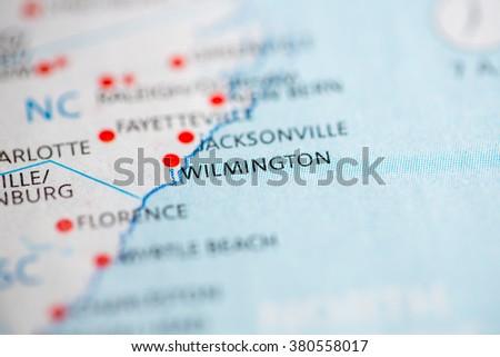 Wilmington. North Carolina. USA - stock photo