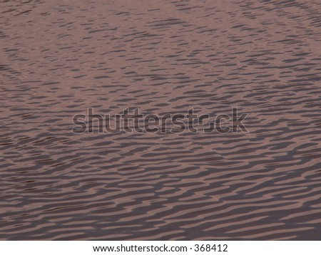 Wind and water - stock photo