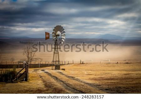 Wind Mill - stock photo