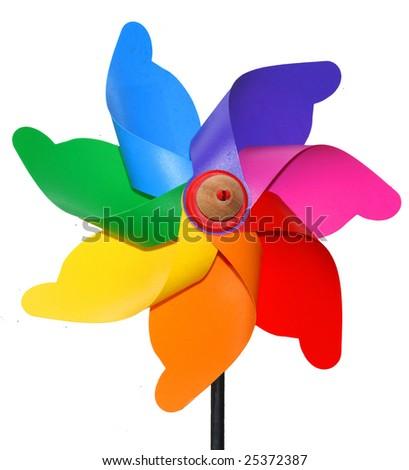 windmill colors - stock photo