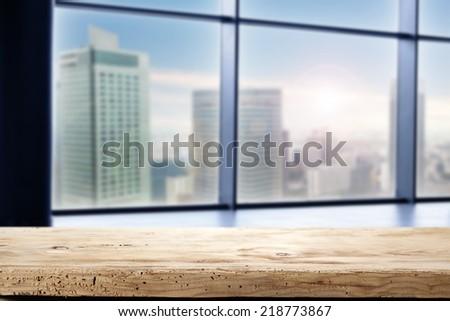 window city landscape  - stock photo