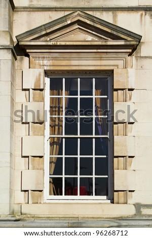 Window, Civic Hall, Leeds - stock photo