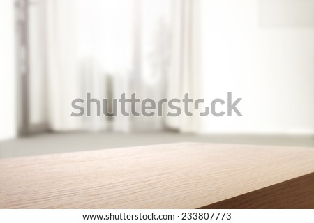 window place and space  - stock photo