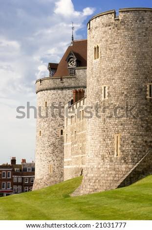 Windsor castle - stock photo