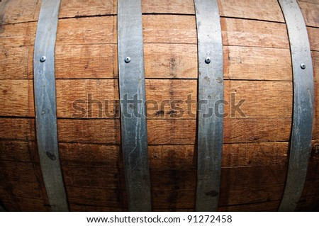 Wine Barrel - stock photo