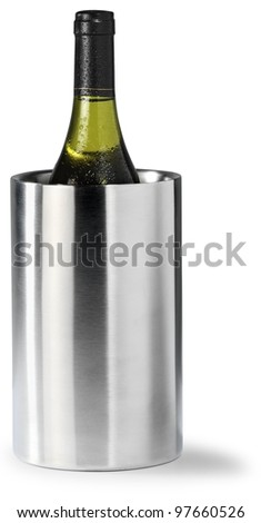 Wine cooler - stock photo