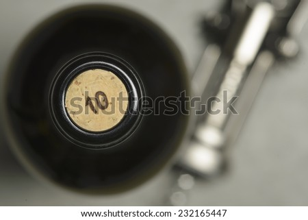 Wine cork - stock photo