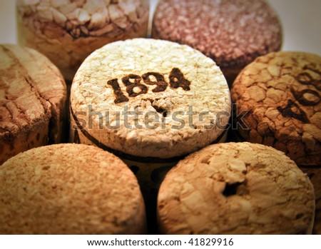wine cork - stock photo