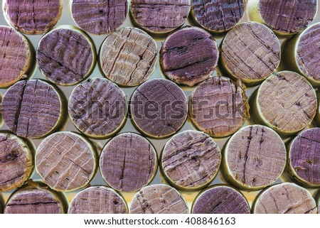 Wine corks background and Textures./ Wine corks - stock photo