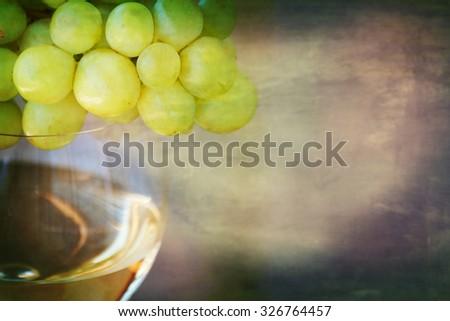 wine degustation - stock photo