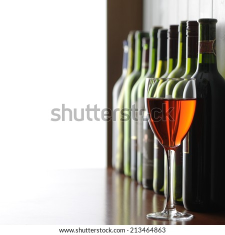 wine rose  - stock photo