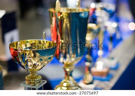 winner cup - stock photo
