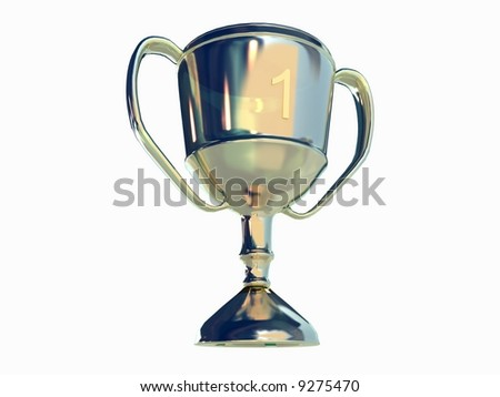 Winner Cup - stock photo