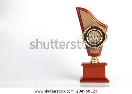 Winning Trophy for Winners - stock photo