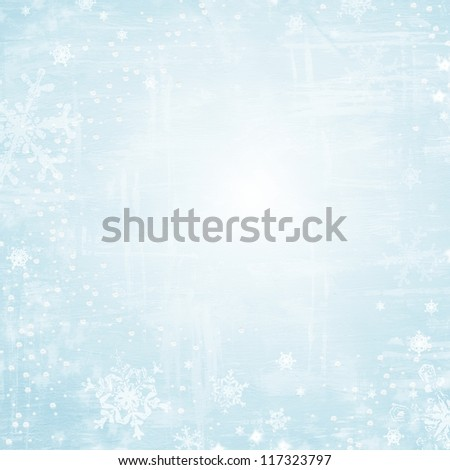 Winter christmas background paper texture - stock photo