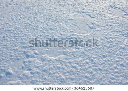 Winter cold snow background. - stock photo