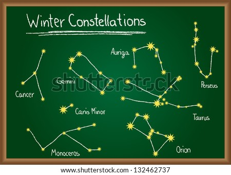Winter Sky Constellations | Search Results | Calendar 2015