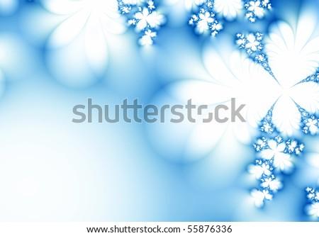 Winter fantasy - stock photo