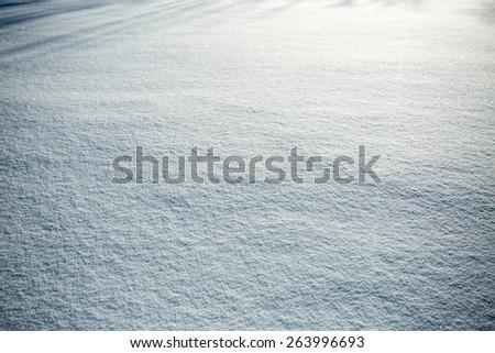 Winter Landscape in Abisko National Park, Sweden - stock photo