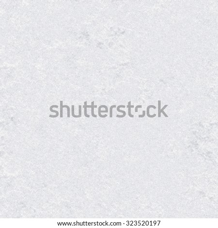 Winter seamless pattern with texture of snow. Pure white natural snow surface. - stock photo