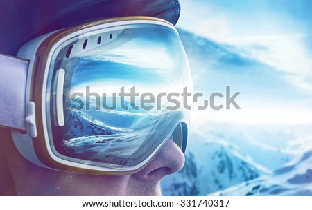Winter Sports Enthusiast - stock photo
