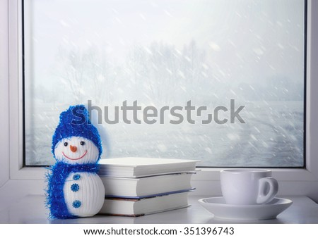 Winter Still Life - stock photo