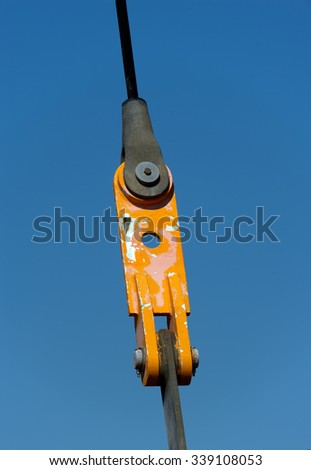wire connection - stock photo