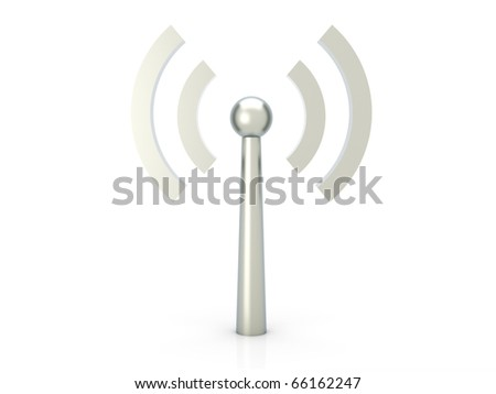 Wireless Connection - stock photo