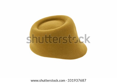 Woman hat, isolated 