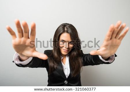 Woman hypnosis mysticism - stock photo
