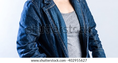 woman suit dressed - stock photo