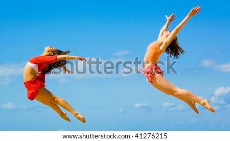 women birds - stock photo