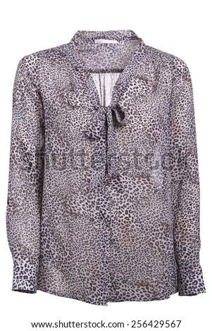 women blouse isolated - stock photo