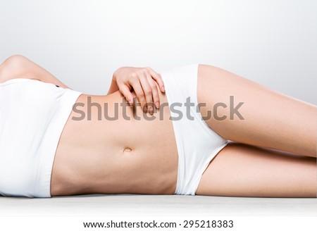Women, Body, Beauty. - stock photo
