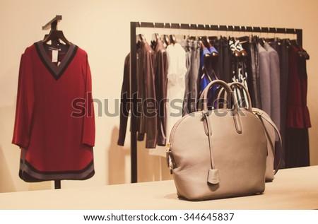 Women clothing store - stock photo