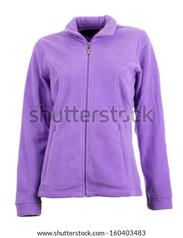 Women fitness jacket - stock photo