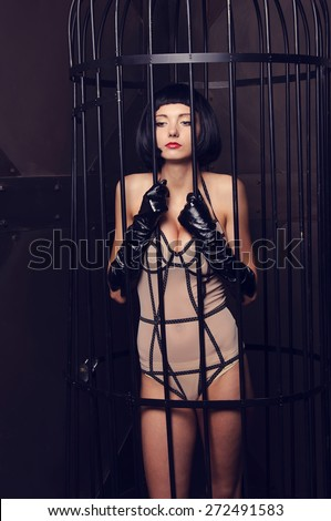 Sex Pics Woman In Cages 13
