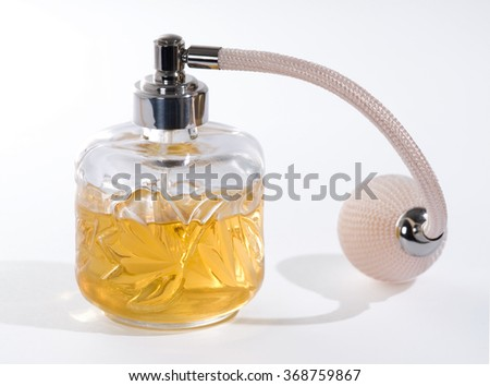 Women's Perfume Spray - stock photo