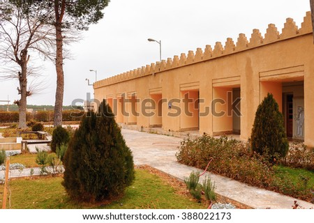 Women's quarters in the ancient city of Persepolis, Iran. UNESCO World heritage site - stock photo