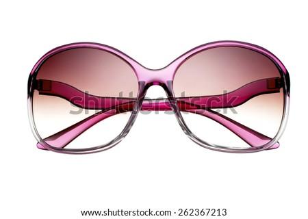 Women's Trendy Sunglasses - stock photo