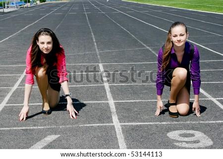 Women starting in business - stock photo