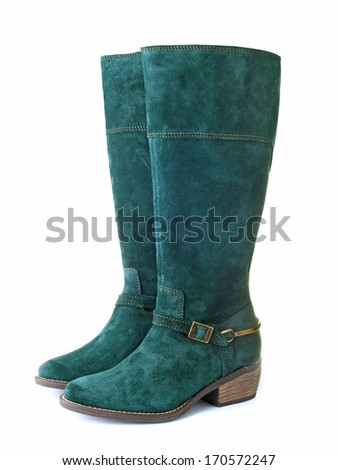 Womens boots - stock photo