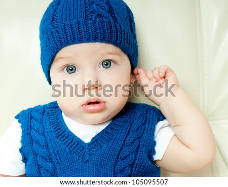 wonderful cute kid - stock photo